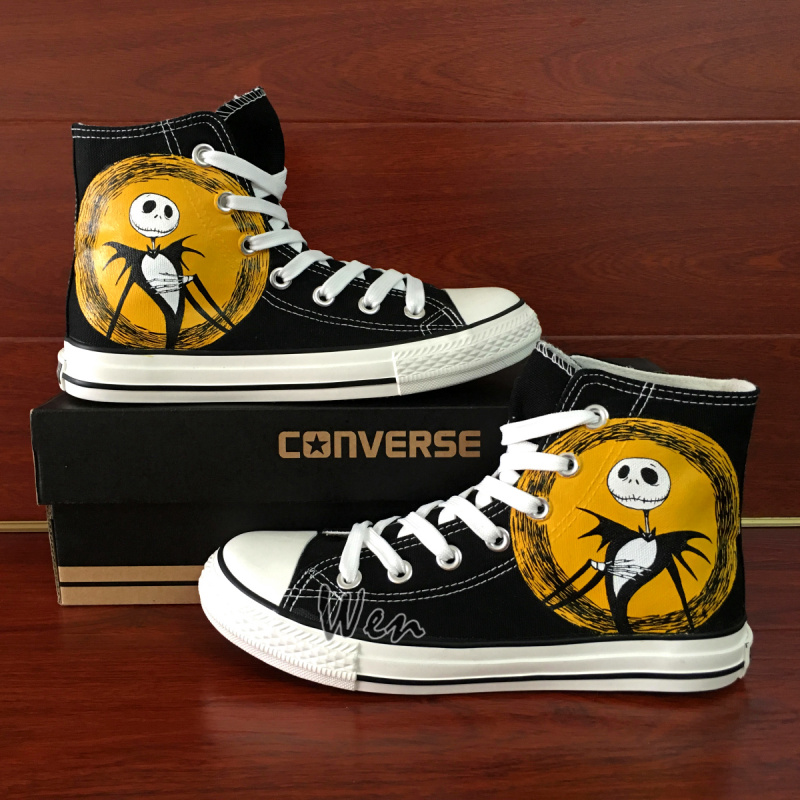 325ed04ecd81 Men Women Converse All Star The Nightmare Before Christmas Jack Skellington  Custom Design Hand Painted Canvas Shoes Gifts on Storenvy