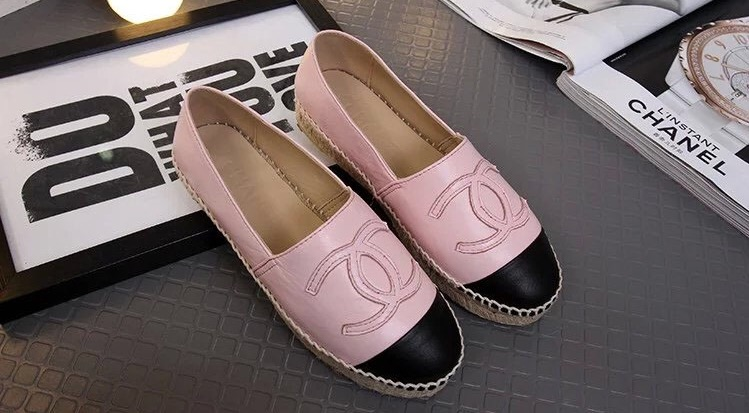 3cda6329 CHANEL Espadrilles (pink) from Lux Shoe Addict