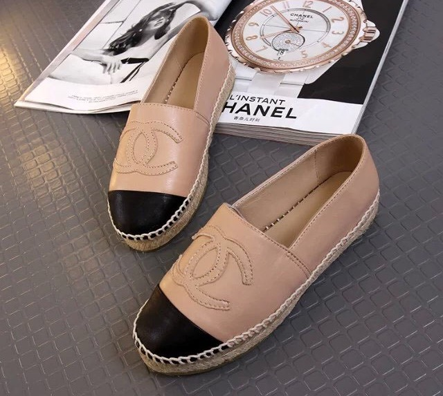 f5d9a86d CHANEL Espadrilles (nude) from Lux Shoe Addict