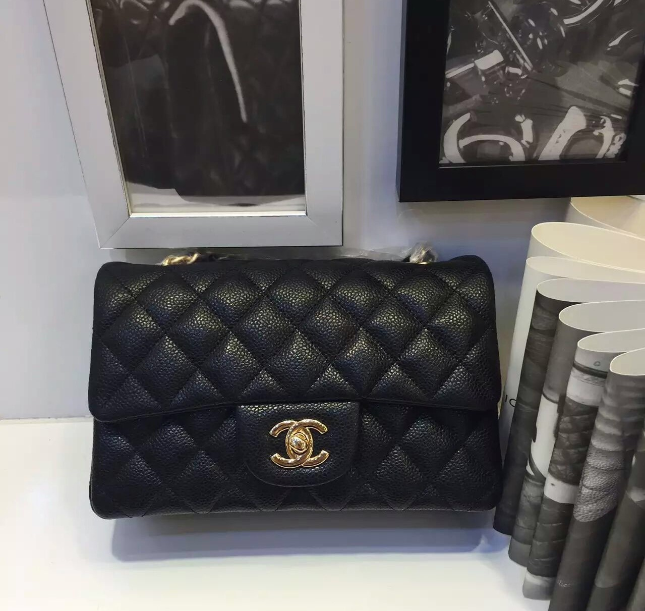 21babc780bfd CHANEL small black leather flap bag · Lux Shoe Addict · Online Store ...