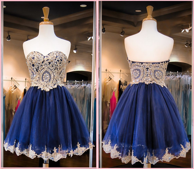 6cca291d639 Royal blue homecoming dress
