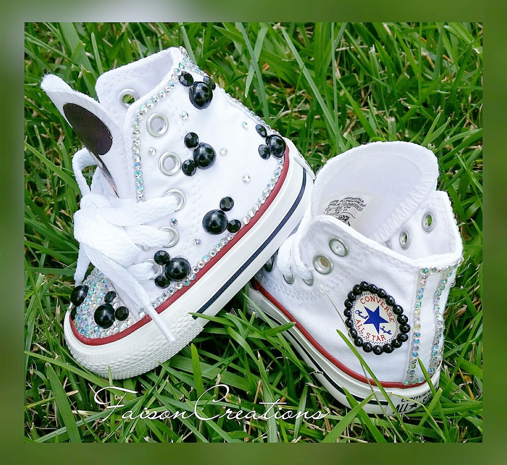 Toddler Custom Mickey Mouse Converse