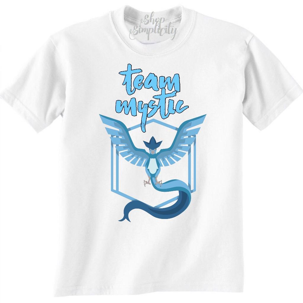 e1c63e41 Team Mystic (pokemon go) tshirt on Storenvy