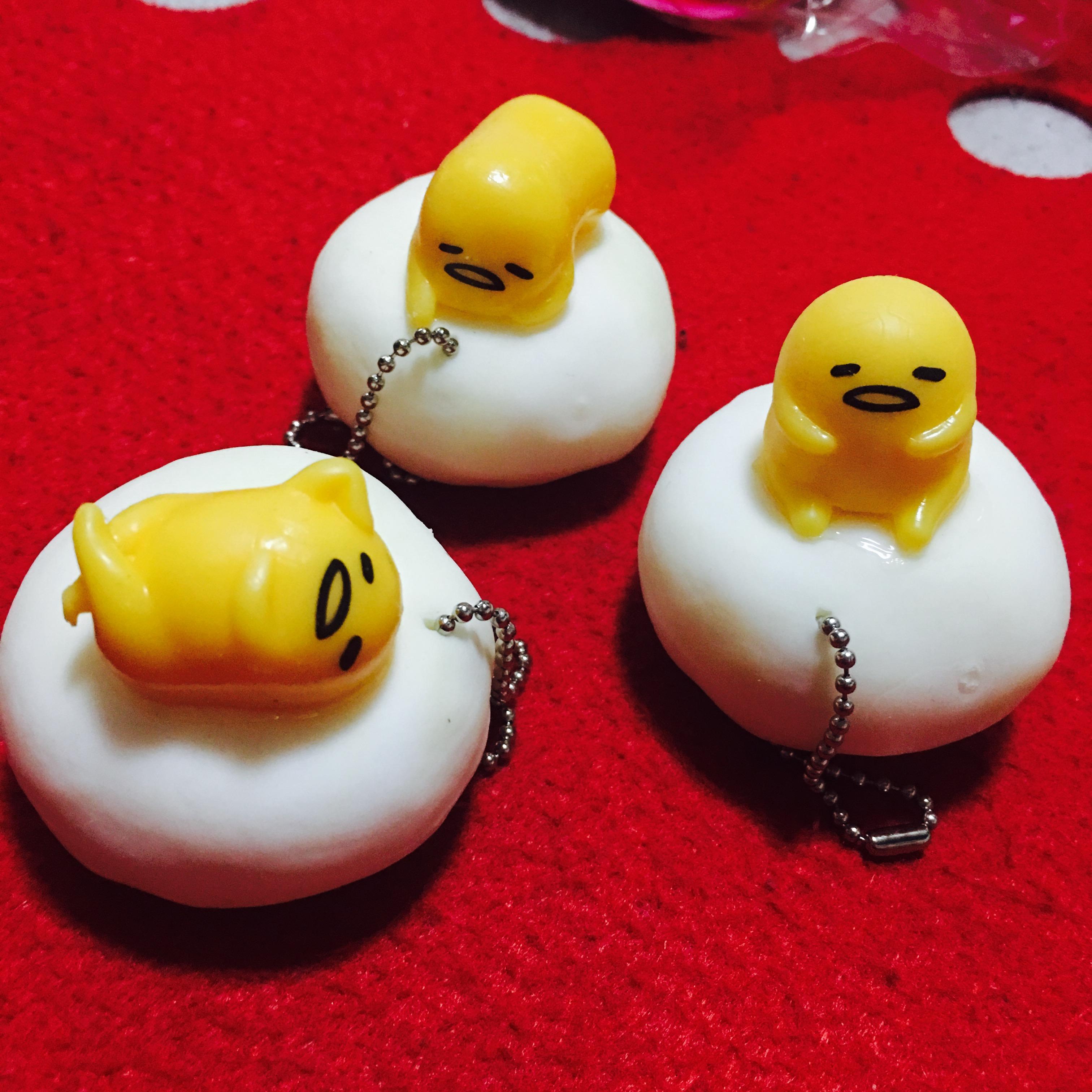 Squishy Muffinz Merch : Realistic Gudetama Mochi Squishy/Squeeze Toy on Storenvy
