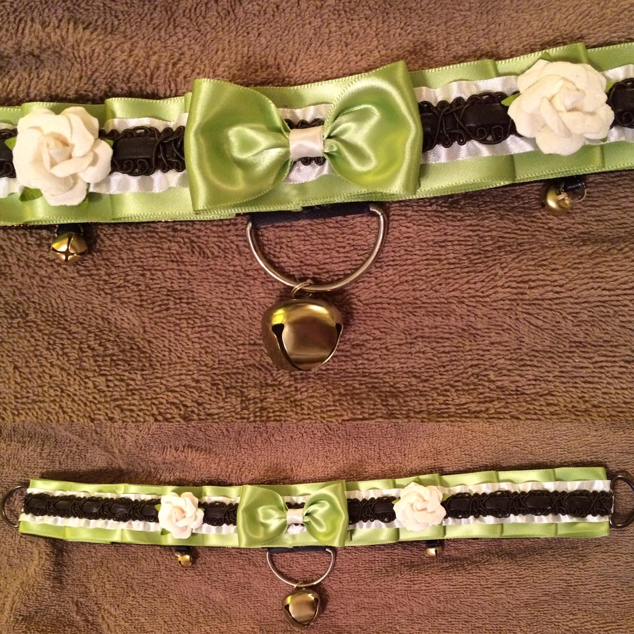 Garden Theme Collar on Storenvy