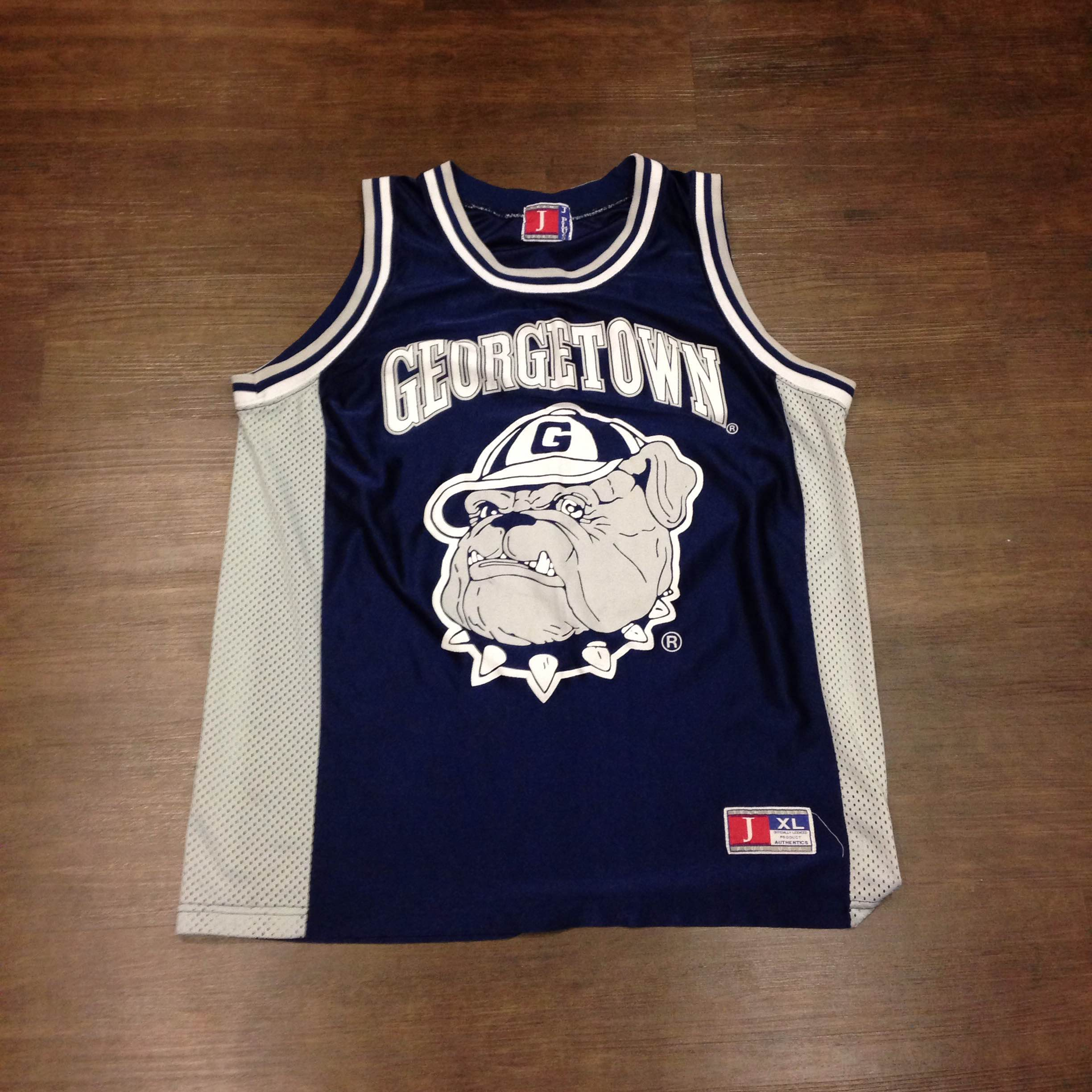 Georgetown Hoyas 90s Basketball Jersey XL · Kings Court Vintage ... 771eced81