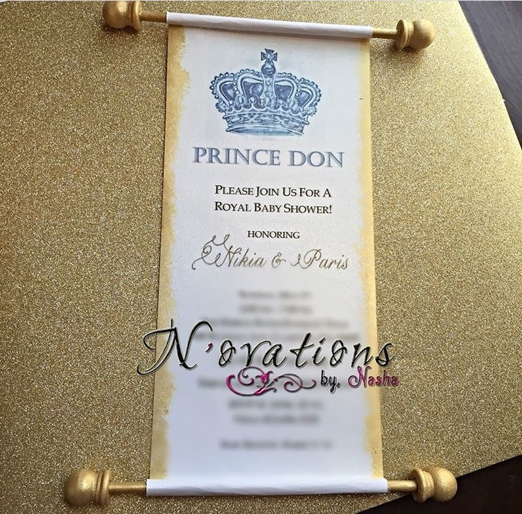 Royalty Scroll Invitations From Novations By Nasha