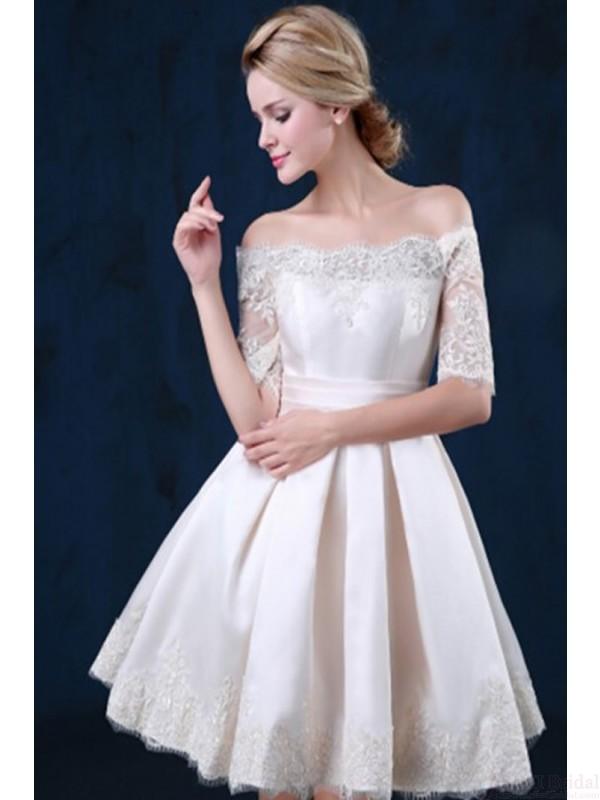 9123e5dcc8 White Lace Homecoming Dresses