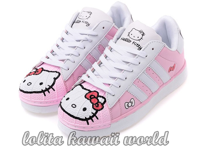 Free 20shipping 20lolita 20kawaii 20hello 20kitty 20shoes 20sport 20shoes  20lk16071126 205 e5 89 af e6 9c