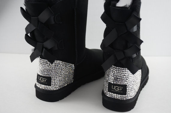 Crystal Swarovski Ugg Bailey Bow Boots On Storenvy