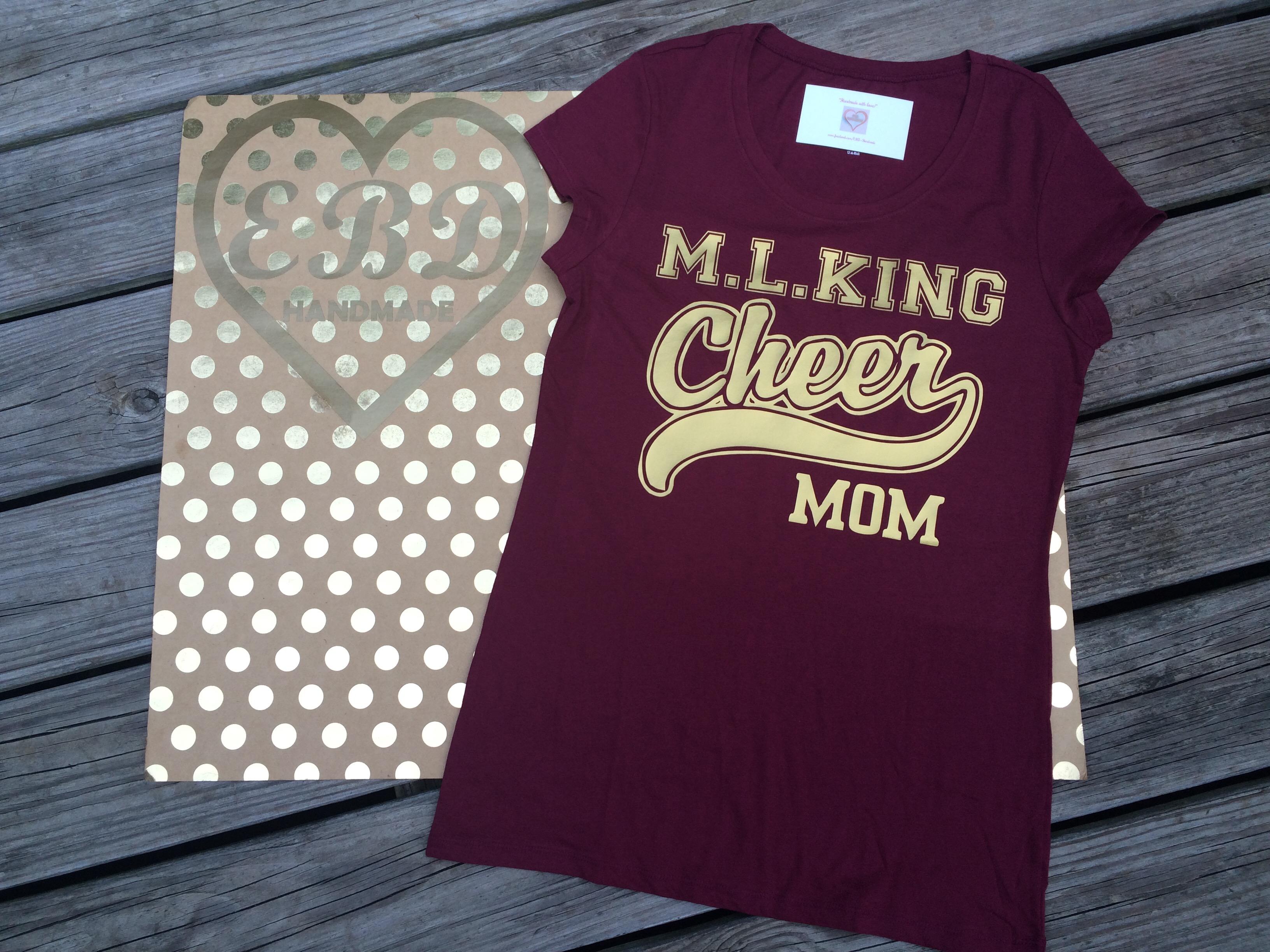 8529d44150e3 Cheer Mom shirt on Storenvy