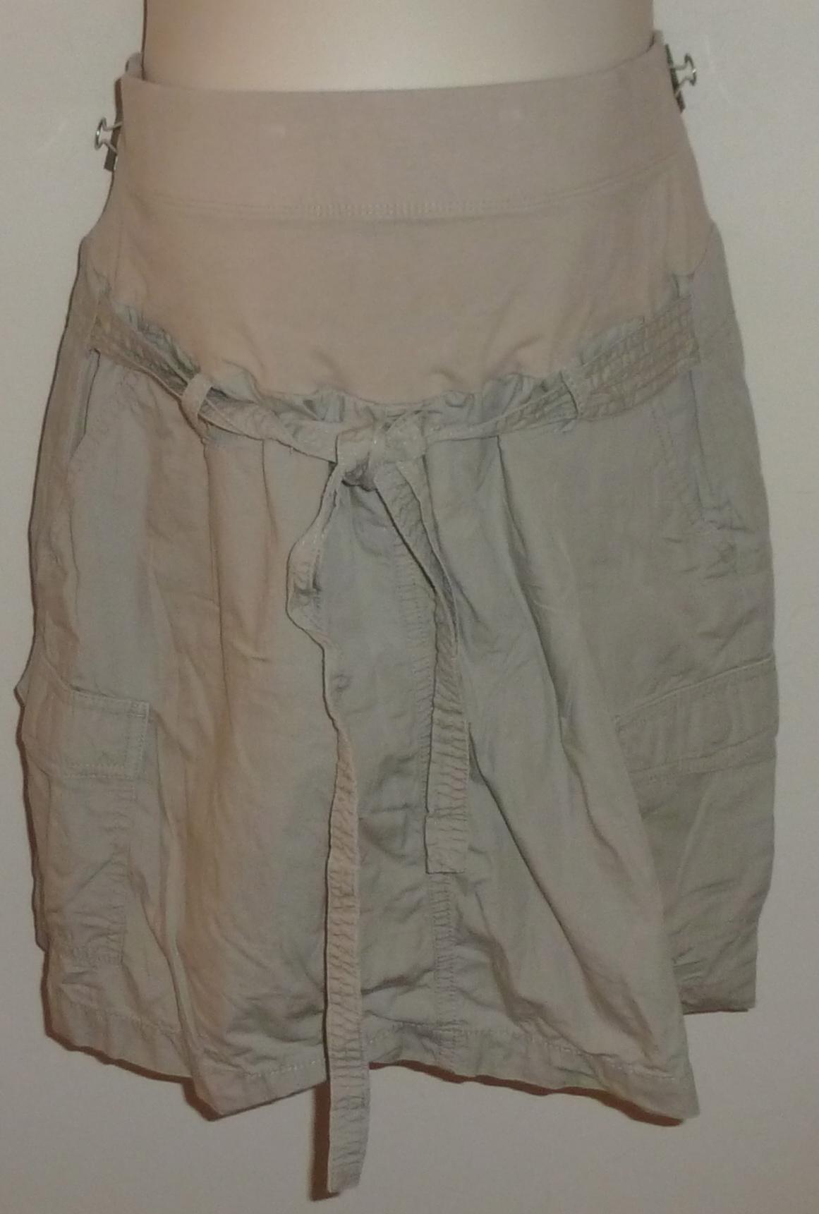 f5d5433ce8e24 Khaki Skirt-Oh Baby By Motherhood Size Medium S713 on Storenvy