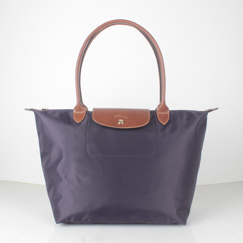 Longchamp Le Pliage Nylon Large Tote Bag Bilberry 1899089645 Free ... 7b9d6eed4ead9