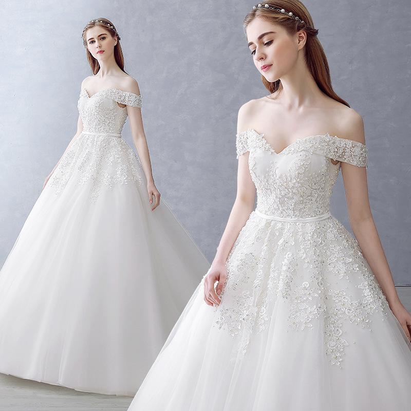 A208 Vestido De Noiva Wholesale 2016 Bride Married Sexy White Lace