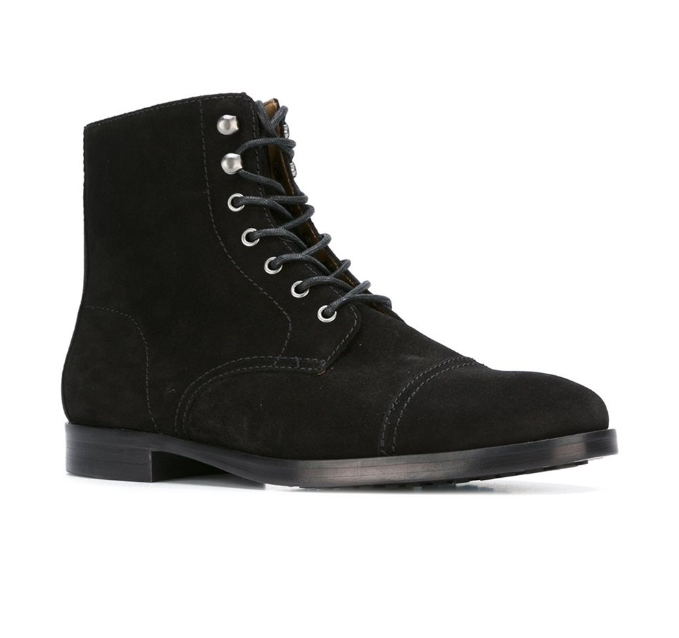 boots, Men suede ankle boots sold