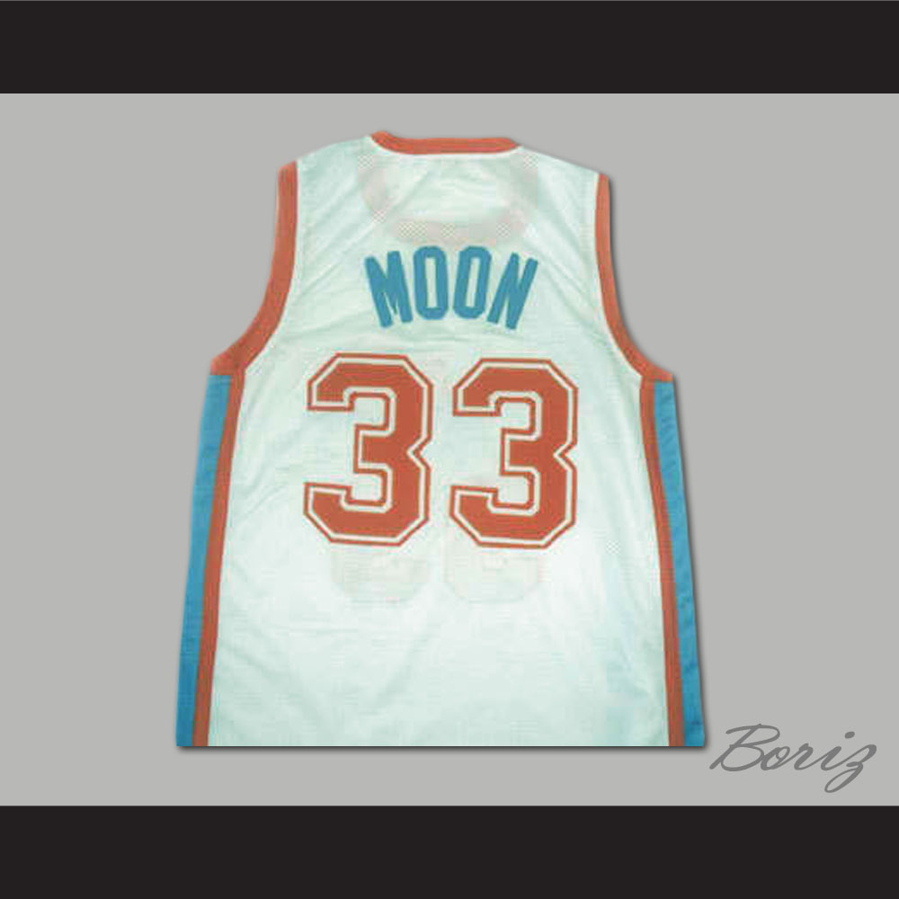 f19b766ab2f1 Jackie Moon No 33 Flint Tropics Semi Movie Jersey White All Size All ...
