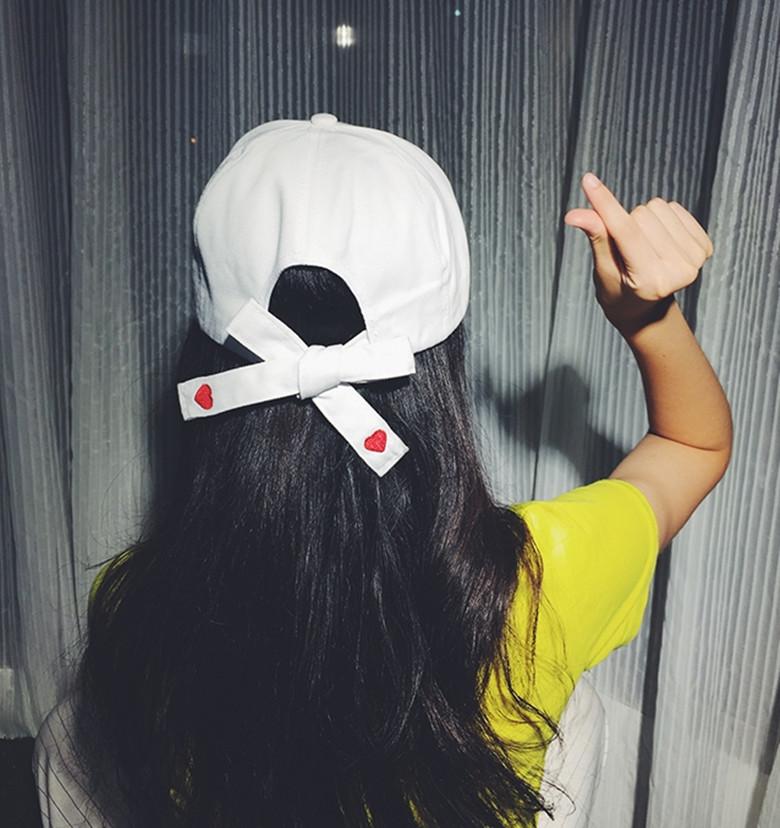3d812550c Korean Ulzzang Women Hip-hop Sweet love Lace Embroidered Hat baseball Cap