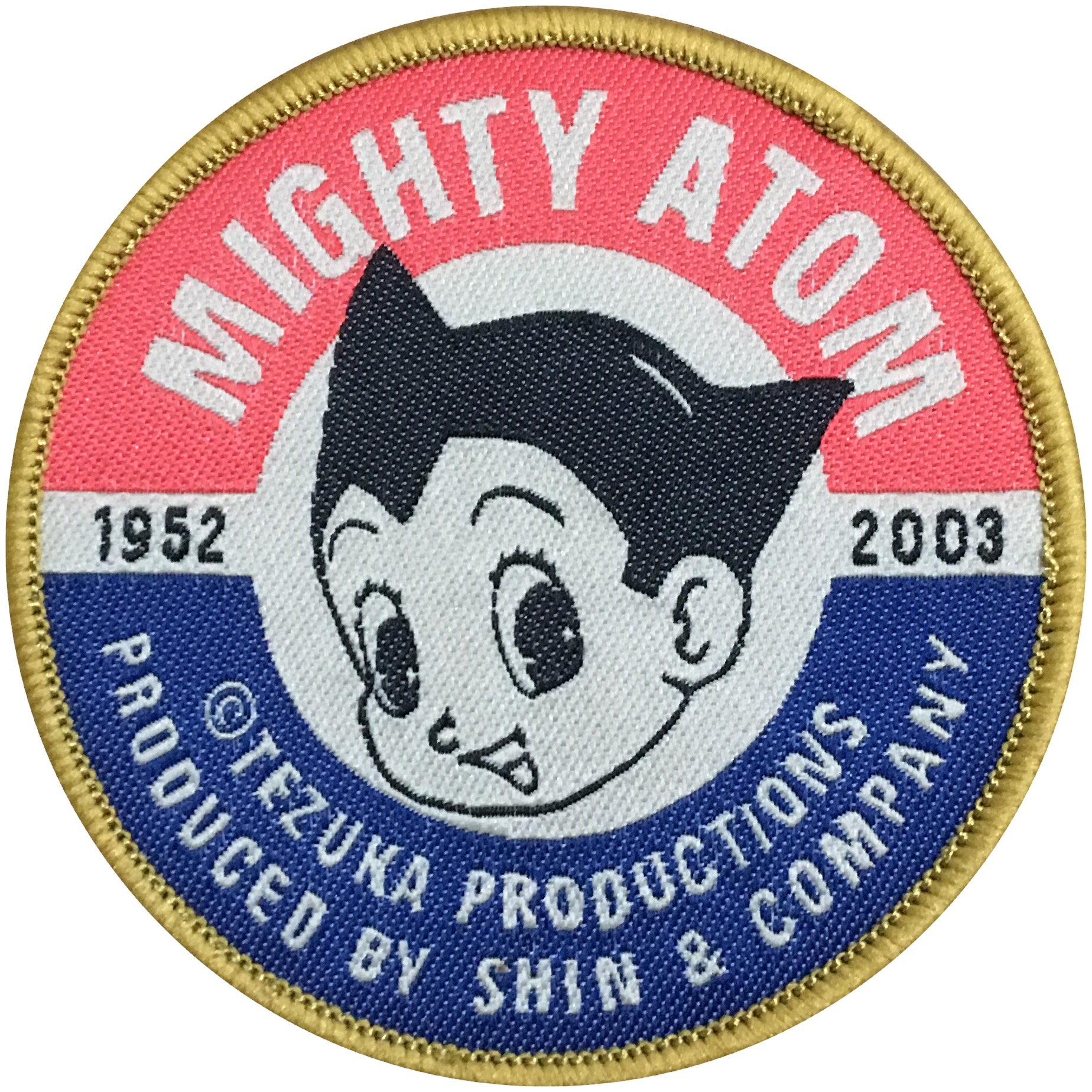 Astro Boy Atom Boy Mighty Atom 鉄腕アトムembroidered Patch Iron