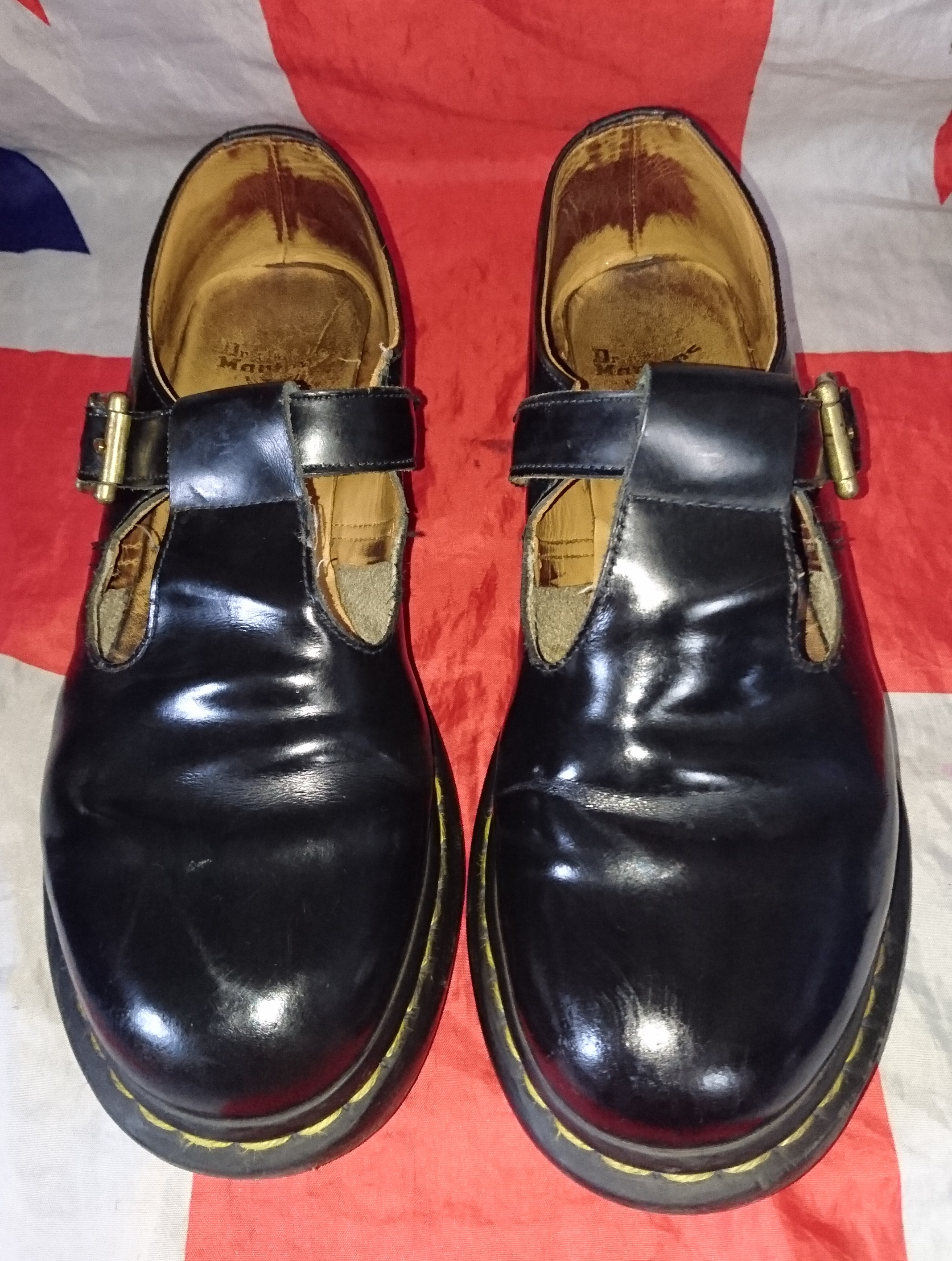 a4de5db0e47 Polley - Black T Bar Dr Doc Martens Mary Jane Shoes - UK 7*EU 41*USL 9 from  Digital Docs