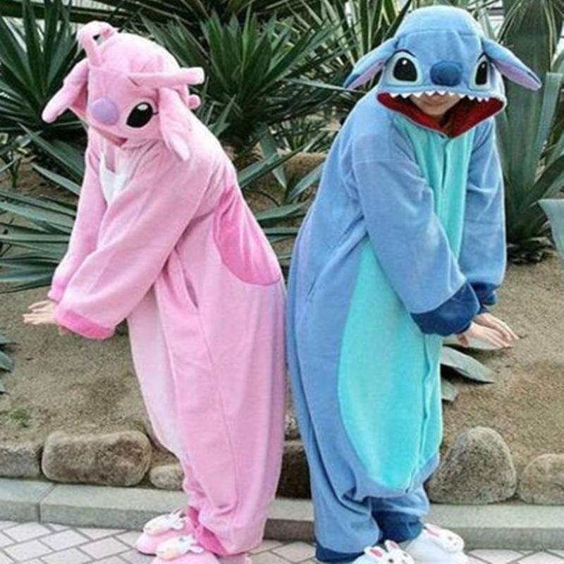 18298d923826 Disney Lilo   Stitch One-piece Flannel Pajamas · modsele · Online ...