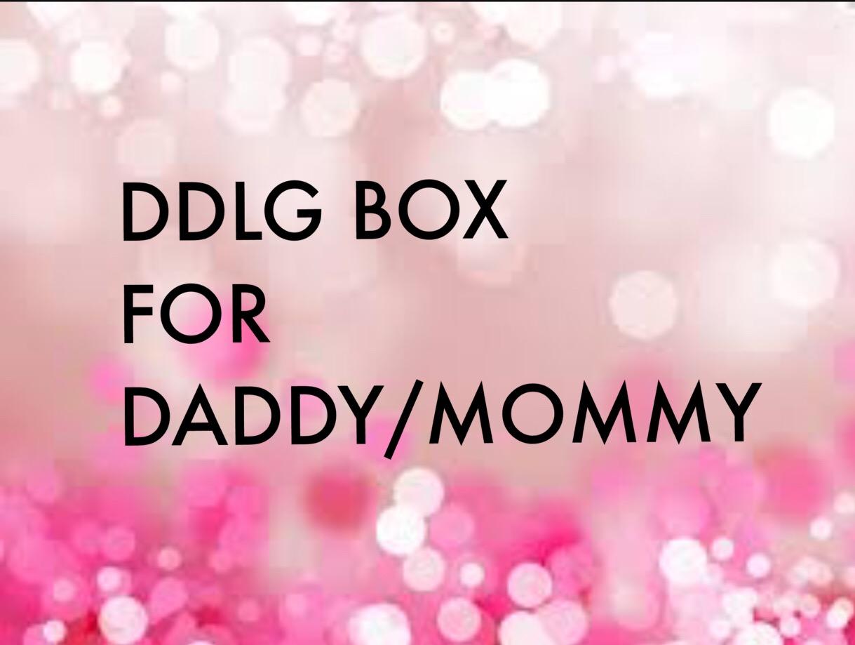Ddlg Box For Dada Mommy On Storenvy