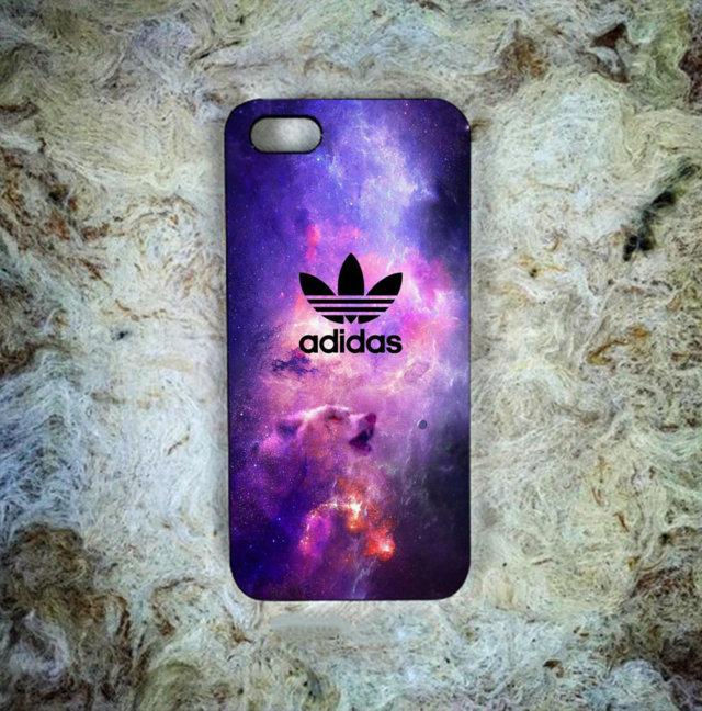 Cheap New Best Adidas Bear Nebula Print On Hard Plastic Case