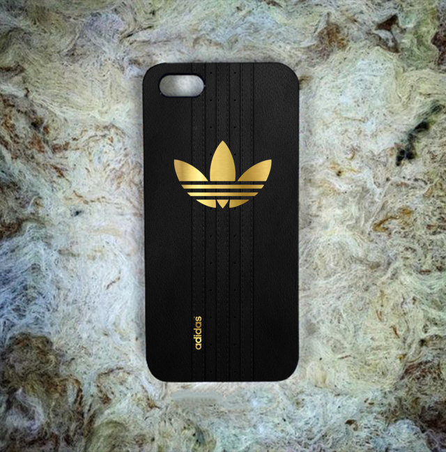 more photos fd731 76369 Cheap! Best New Adidas Gold Logo Black Shoes Print On Hard Plastic Case  Cover for iPhone 6/6s iPhone 6s Plus iPhone 7 Limited Edition