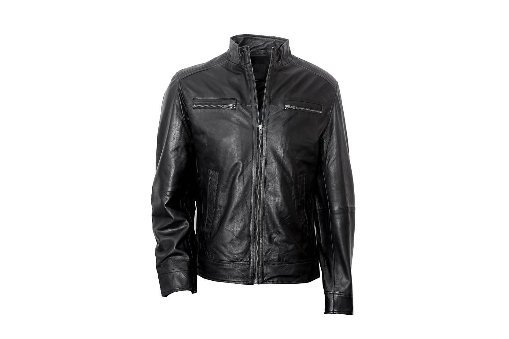 1dcef074b Handmade men's bomber leather jacket, Mens leather jackets, Men biker  jackets