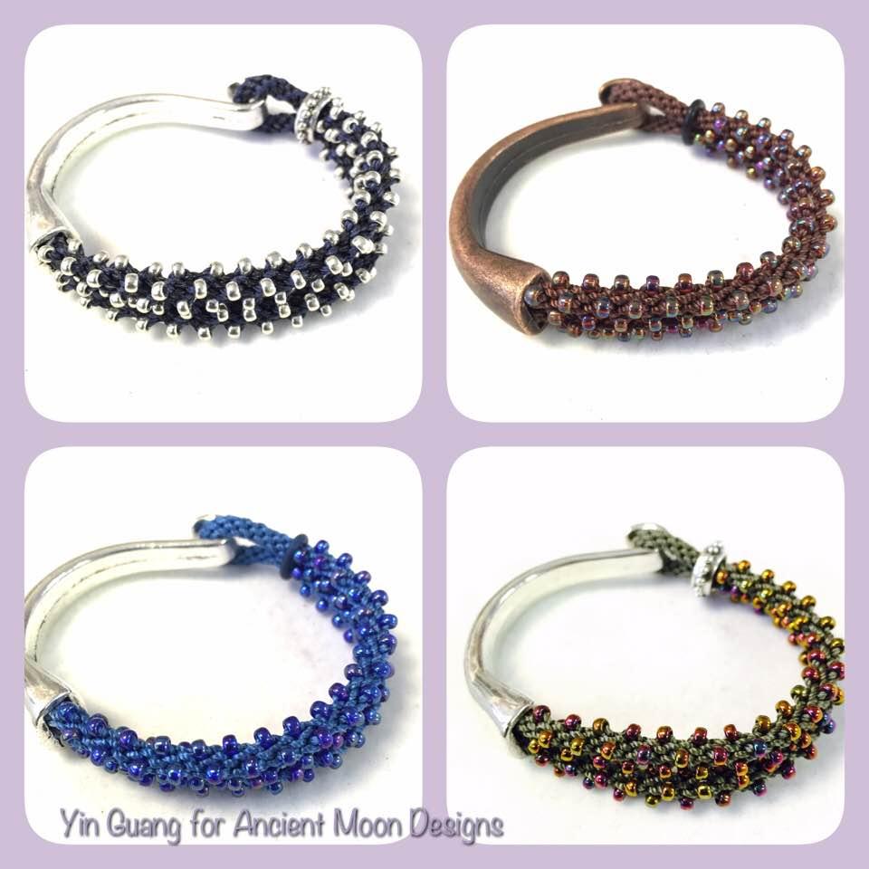 Bracelet-Beaded Kumi Half Hook Bracelet