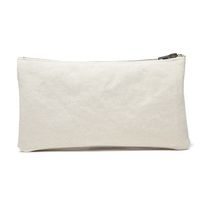 Envy This Collect. Karitco Plain Canvas Cosmetic Clutch Case with Brass  Zipper ... 33aaf7b34516a
