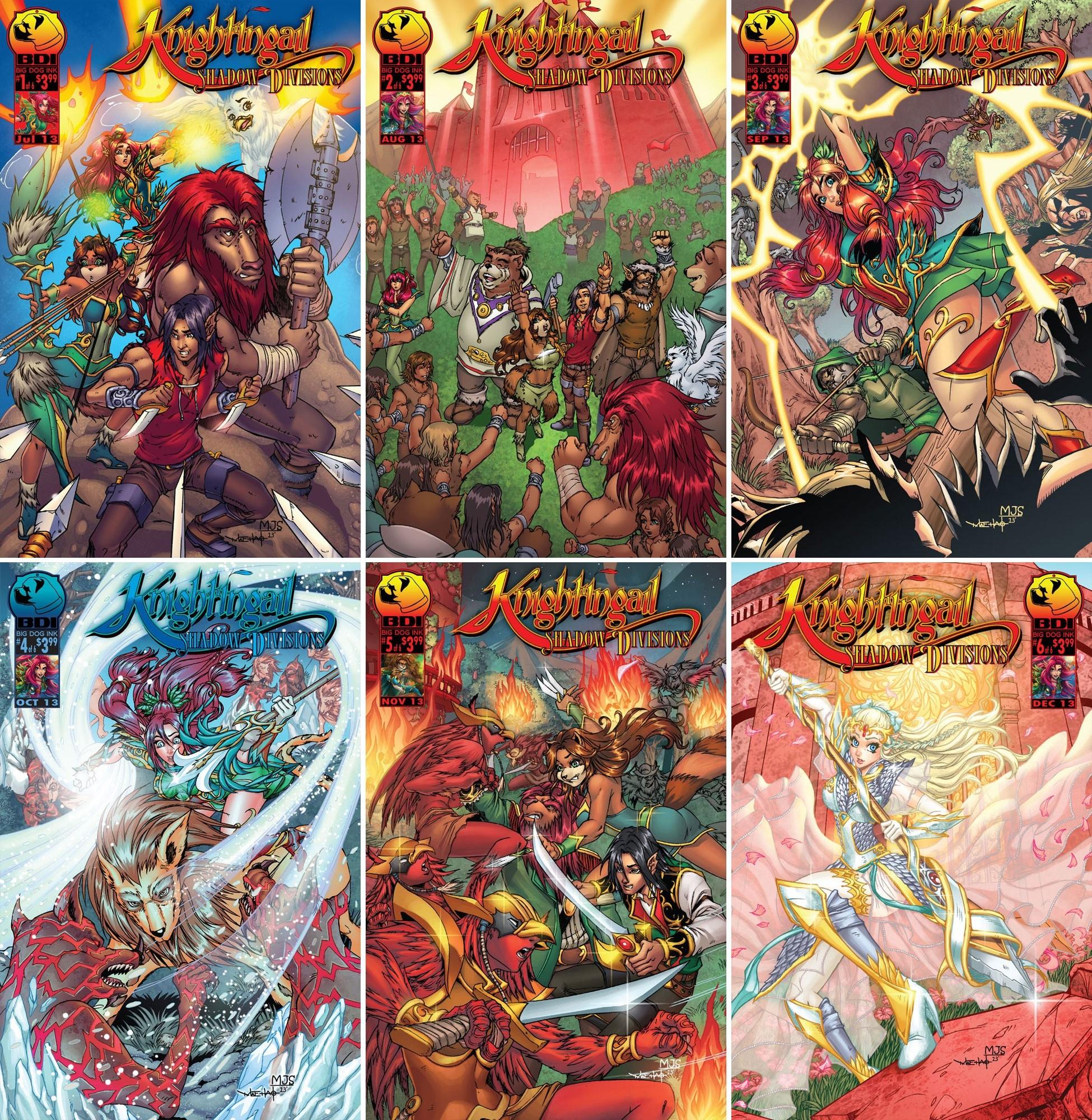 Online comic shops