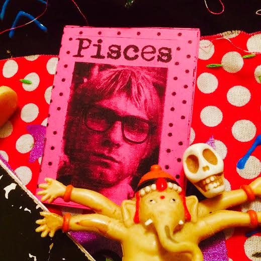 Pisces - zodiac micro zine devoted to the most lovingly sensitive &  intuitive yet most mental of all the signs! xo
