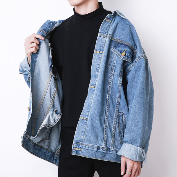 caef25cde3da Free Shipping-GHETTO OVERSIZED DENIM JACKET on Storenvy