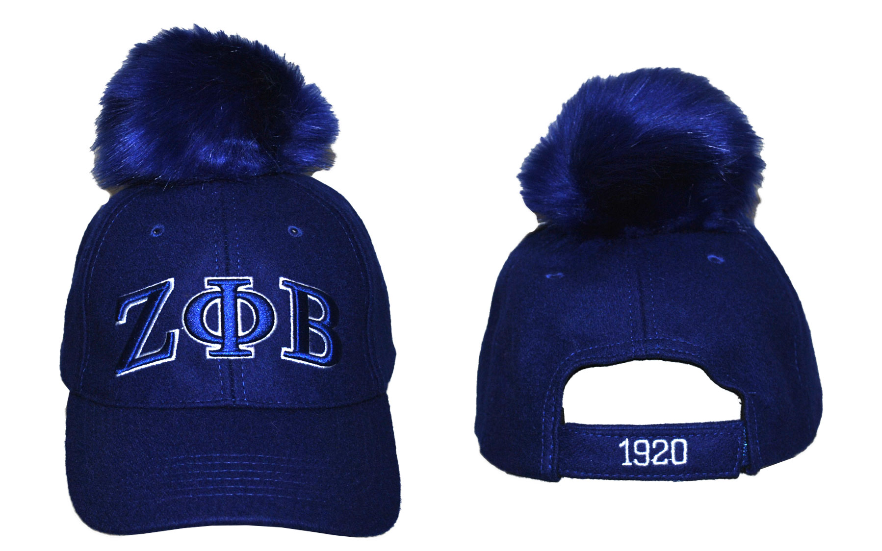 1457c0ca Zeta Pom Pom Hat · Greek CertiPHIed Apparel · Online Store Powered ...