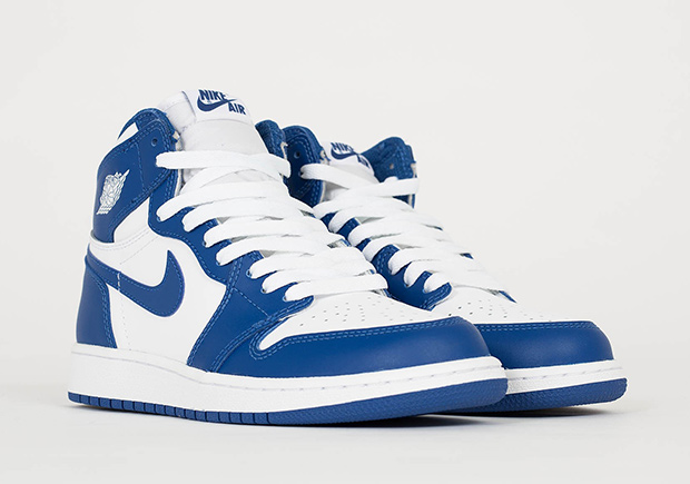 "857be214dda8a AIR JORDAN 1 RETRO HIGH OG ""STORM BLUE"" Color  White Storm Blue ..."