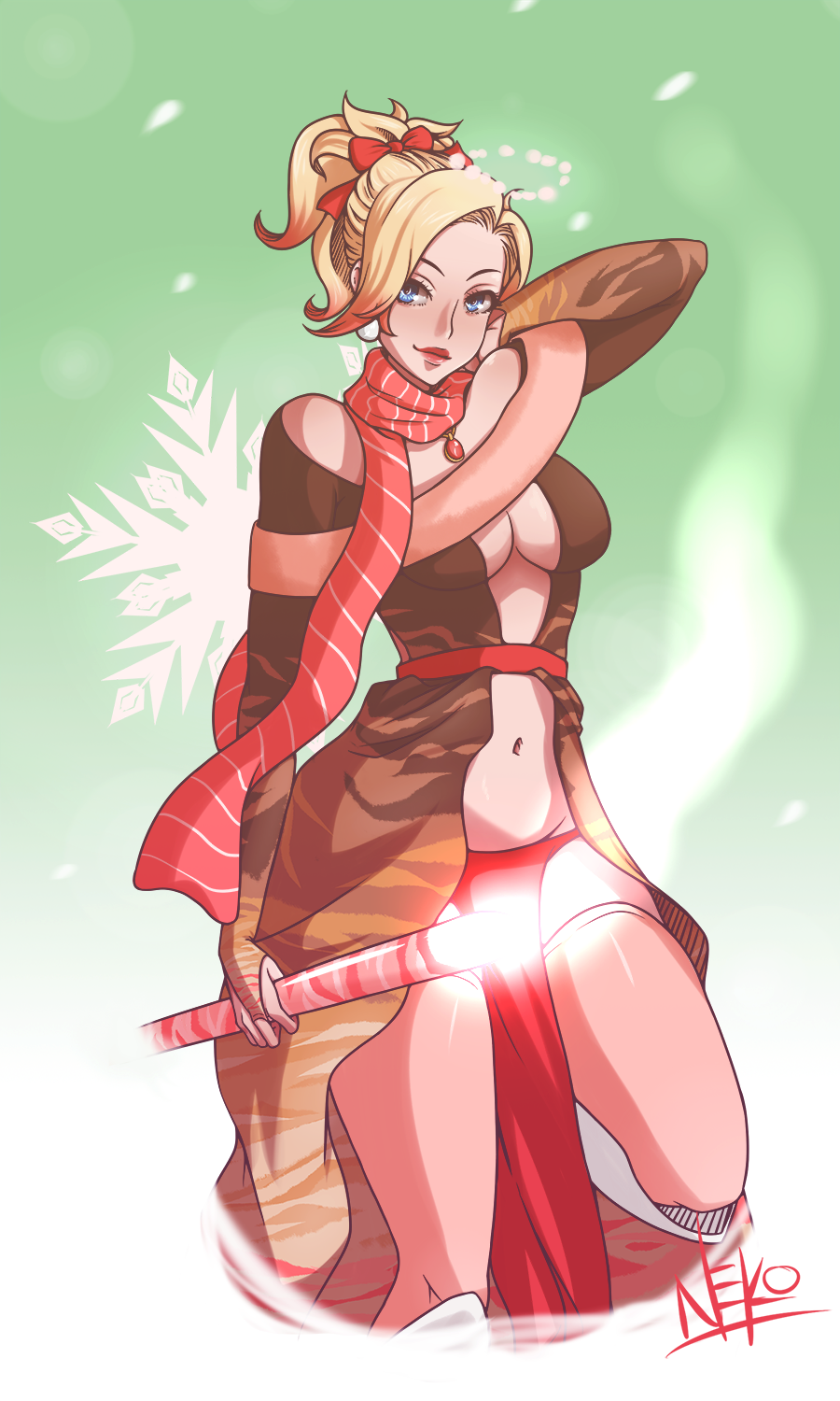 Mercy Christmas.Mercy Peppermint Hot Cocoa Print Sold By Oneeyedneko S Shoppe