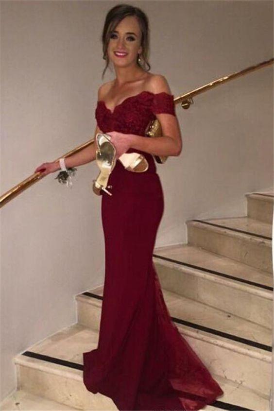83fc6a7b731a Custom Made Burgundy Prom Dress