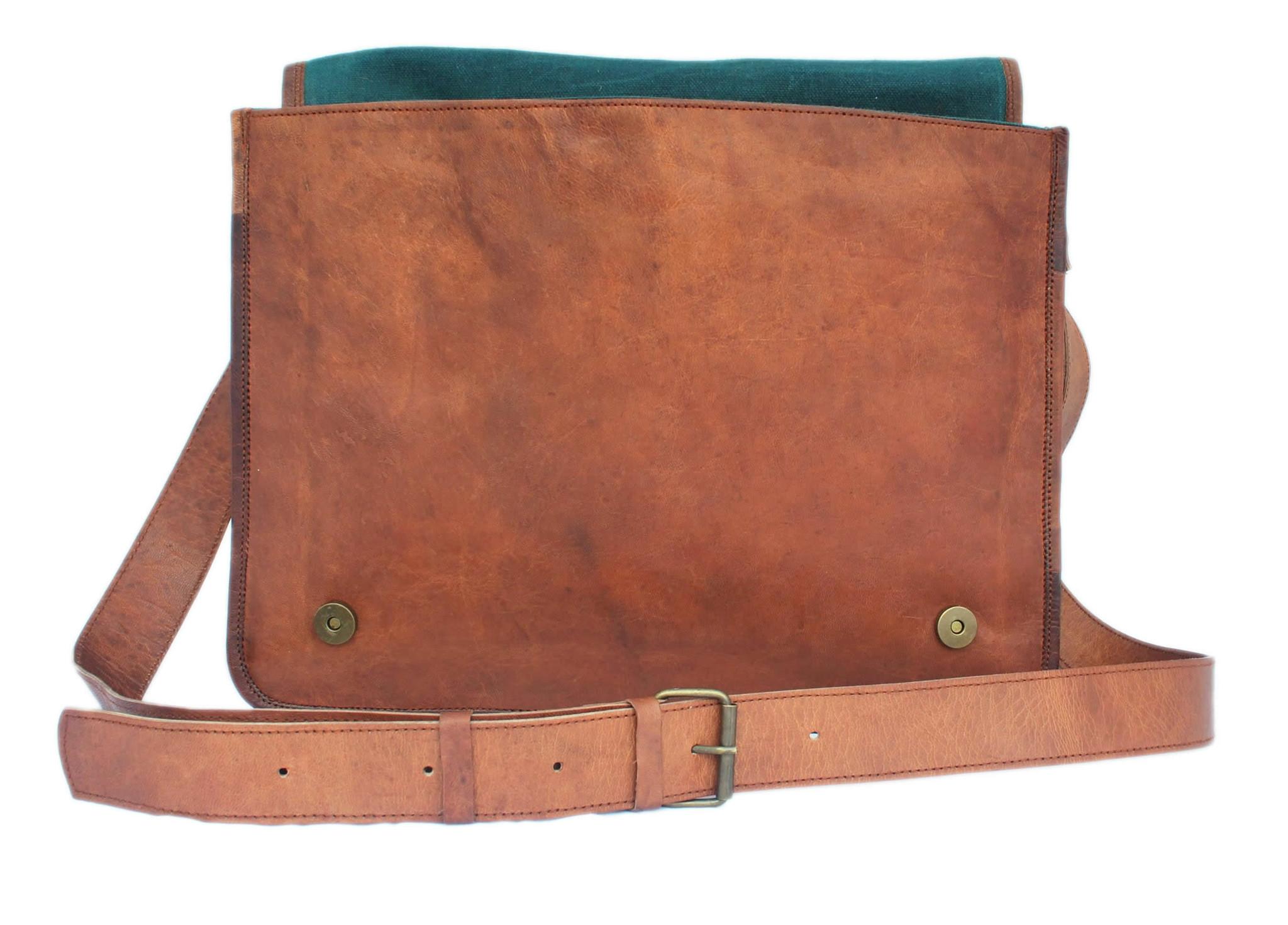 Backpack Messenger Bag Leather- Fenix Toulouse Handball d171de8607955