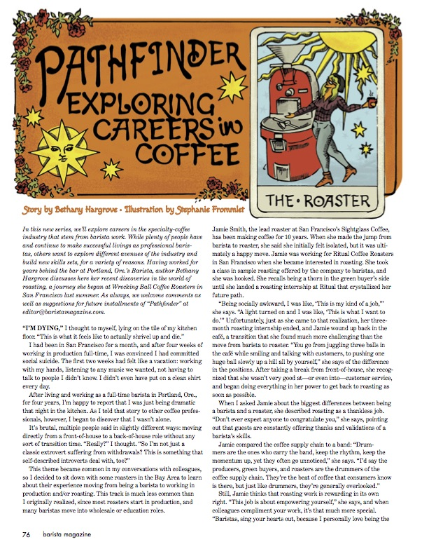 February + March 2017 Issue from barista magazine