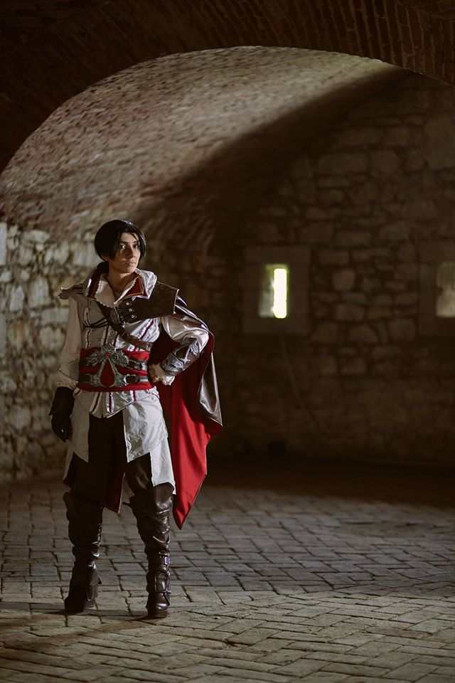 Ezio Auditore Cosplay Signed Print Sold By Shiva Cosplay
