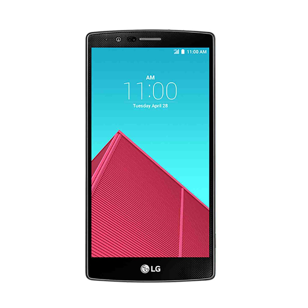 LG G4 H815 32GB QHD Display Unlocked Smartphone Leather Red SKU43371 from