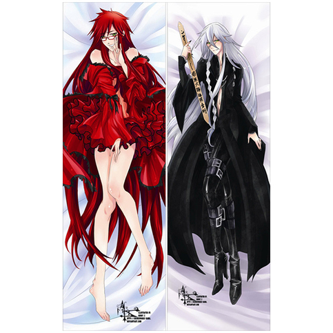 Body Pillow Black Butler Sebastian Michaelis Male Dakimakura Anime Sex Pillow Case Loli Fashion