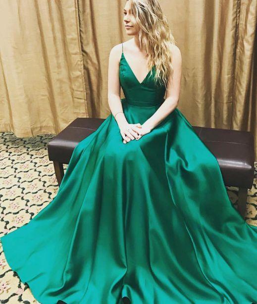 Dark Green Homecoming Dress
