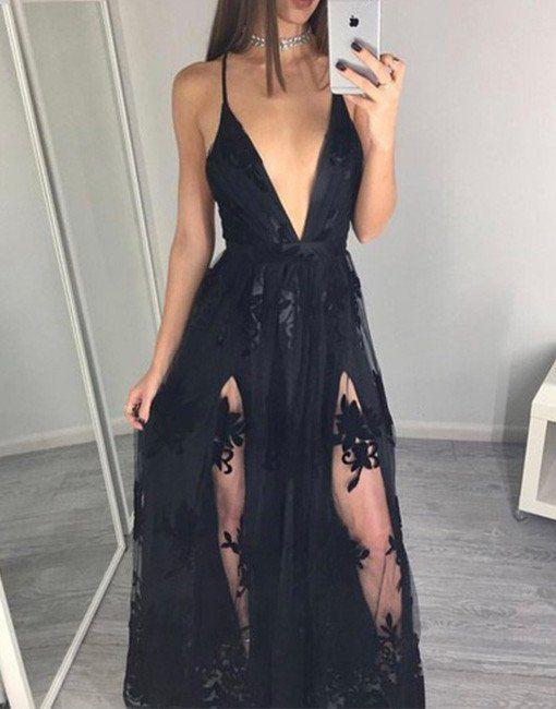Sexy cheap black dresses