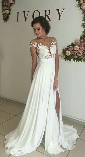 Beach Wedding Dresses 2017.Sexy See Through Prom Dress Lace Wedding Dress Beach Wedding Gown Prom Dresses 2017 From Shedress