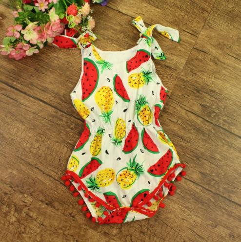 b4b868f607b Baby Toddler Fruit Romper · Blush + Willow