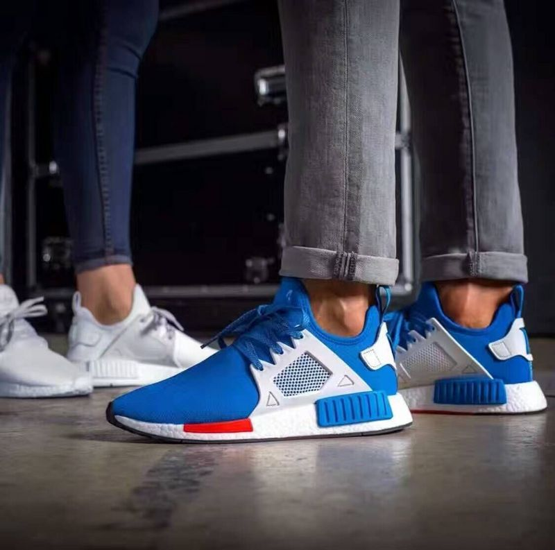 the latest a95b6 3897c NMD xr1 series knitting surface fashion running shoes blue from BELLDRESS