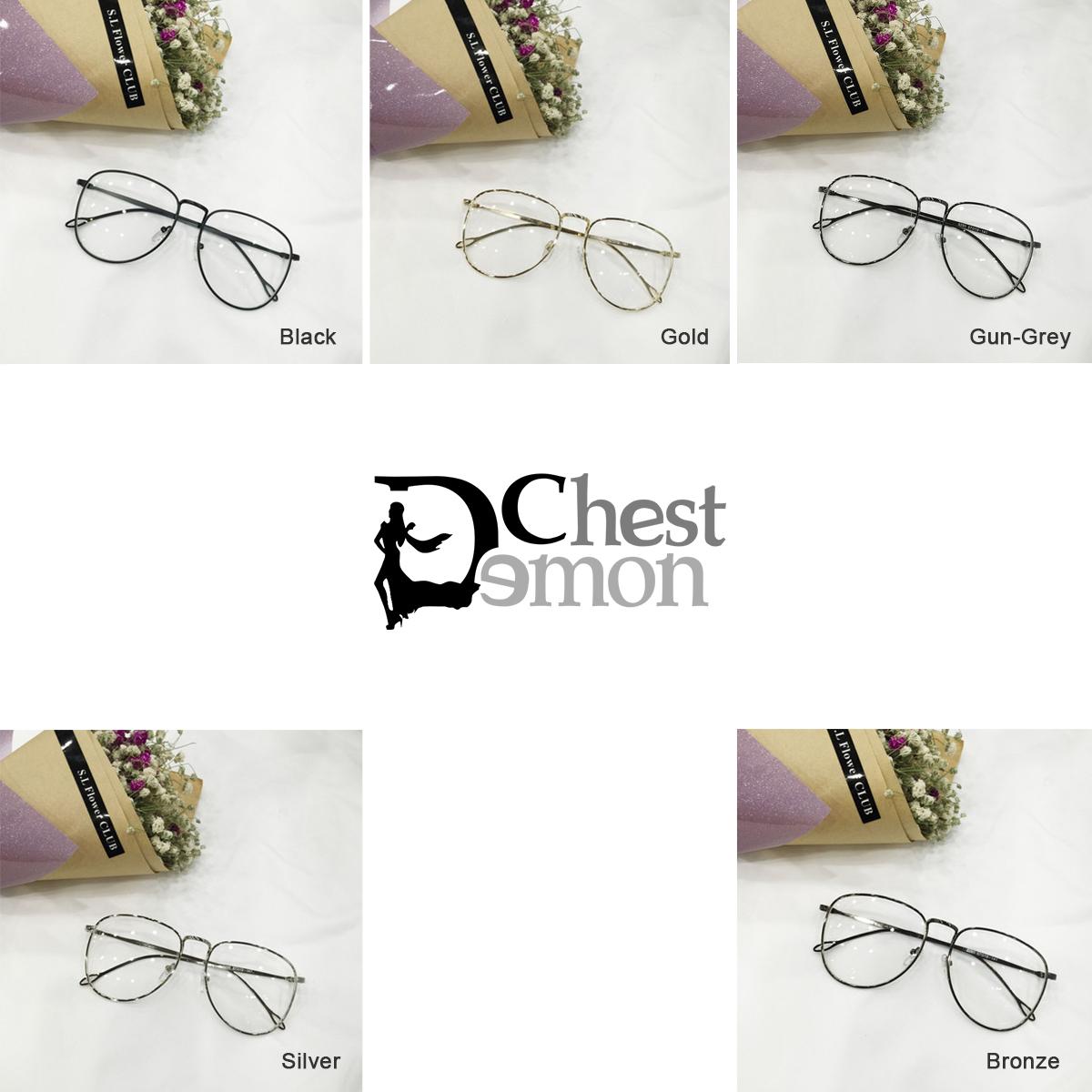 b47af7f9f8e ... Emo Retro Great Circle Eyeglass Korean Trendy Glasses DC222 - Thumbnail  4