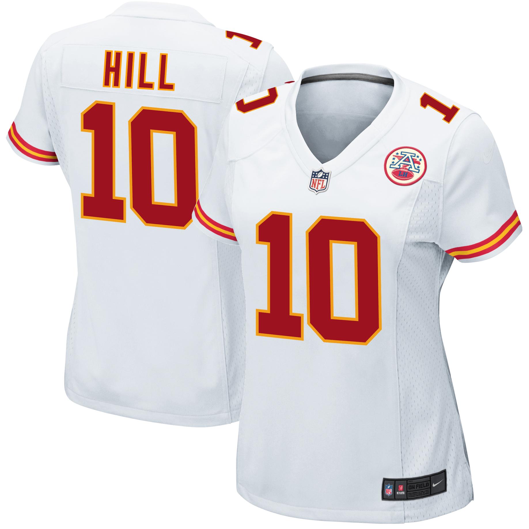 new styles 8c827 5dce4 Tyreek Hill Kansas City Chiefs Nike Women's Game Jersey - White sold by  Best Jerseys