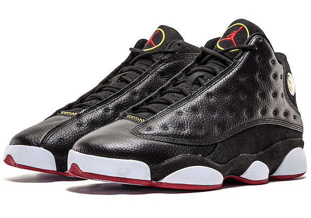 "033f3e3d0426 AIR JORDAN 13 ""PLAYOFFS"" Wmn 5.5-8.5  Men 8- 13 Color  Black True ..."